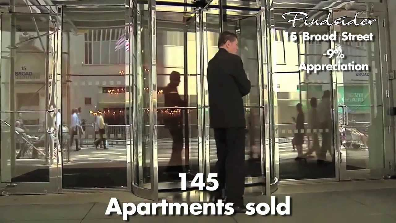 Findsider 15 broad street downtown by philippe starck for Nyc condos for sale