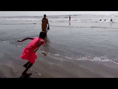 Jampore Beach Daman, India (Exclusive Video)