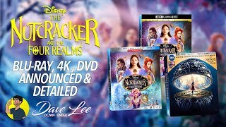 Disney's THE NUTCRACKER AND THE FOUR REALMS - Blu-ray, 4K, DVD Announced & Detailed