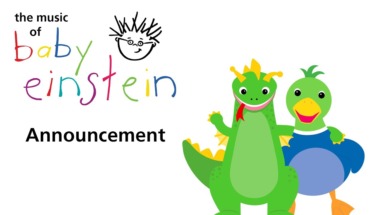 The Music Of Baby Einstein Announcement - YouTube