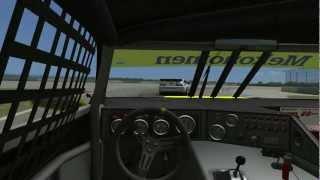 rFactor : Camaro Cup 2010 Generation 5 Mod - Sebring Gameplay