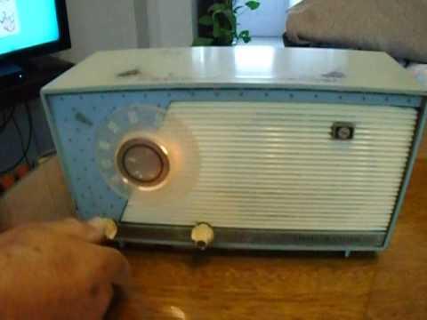 ANTIGUA RADIO GENERAL ELECTRIC MODELO 632