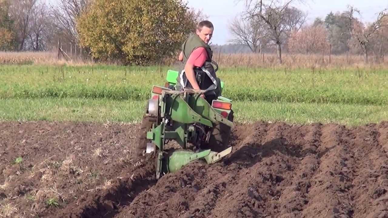 Subcompact Tractor Plow Garden