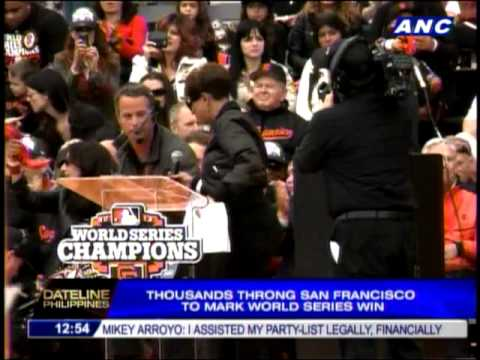 Thousands throng San Francisco to mark World Series win