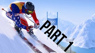 Steep Road to the Olympics Beta Gameplay Walkthrough Part 1 - GOING FOR GOLD !!!!