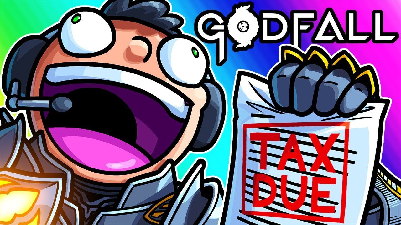 Godfall Funny Moments Nogla Coming Down Like The Irs Youtube