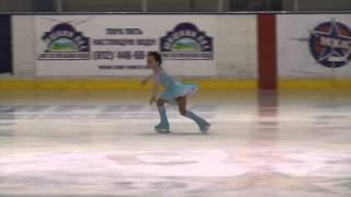 Фигурное катание. Яна Пузанкова, 6 лет. 24 мая 2014 года.