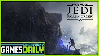 Star Wars Jedi: Fallen Order Revealed! - Kinda Funny Games Daily 04.15.19