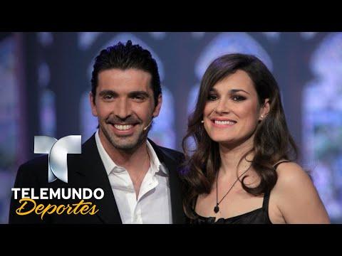 La esposa de Buffon se enteró de su infidelidad ¡por el periódico!   Telemundo Deportes   Telemundo