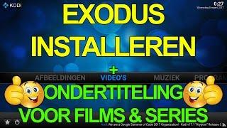 KODI - EXODUS installeren + Nederlandse Ondertiteling!