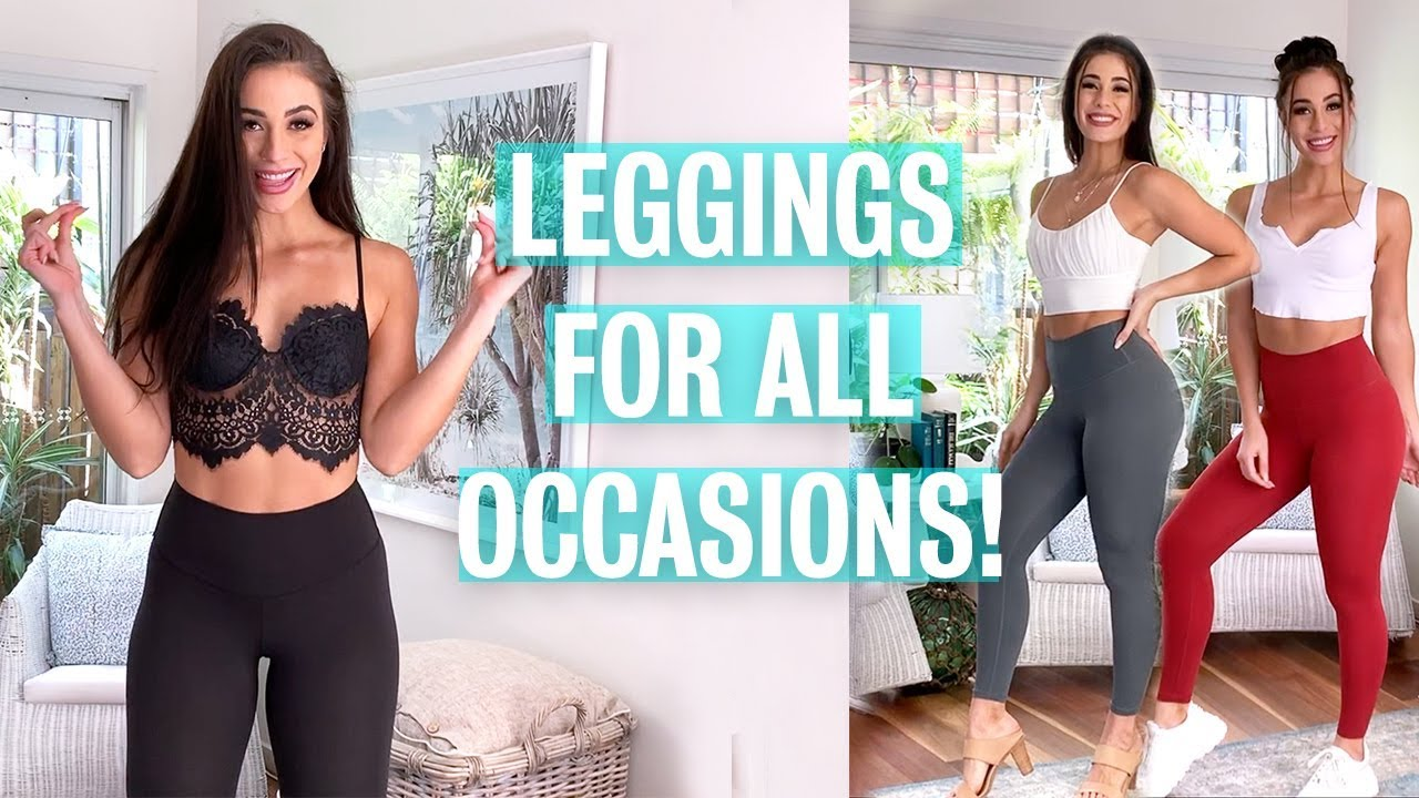 HOW TO STYLE YOUR DB ACTIVE LEGGINGS   DANNIBELLE