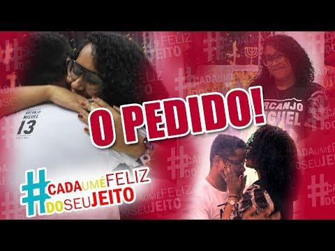 O PEDIDO DE CASAMENTO - Sirlene Cristina & Márcio Souza - SERÁ QUE ELA ACEITOU?!