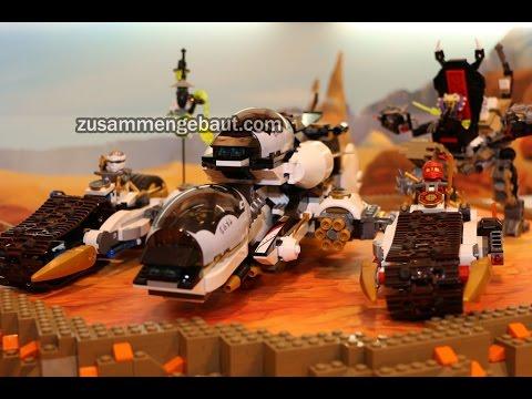 LEGO Ninjago: Seven new sets on Toy Fair display - summer 2016!