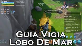 Führer Vigia Lobo De Mar-Fortnite Save El Mundo