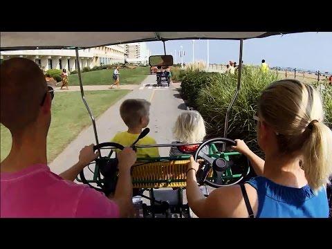 Virginia Beach family vacation with 2 Kids - Aug 2014