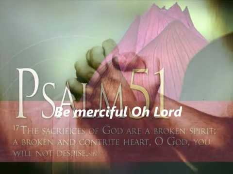 WHISPERS OF MY FATHER - BE MERCIFUL, O LORD (Psalm 51) by Steve Angrisano with lyrics