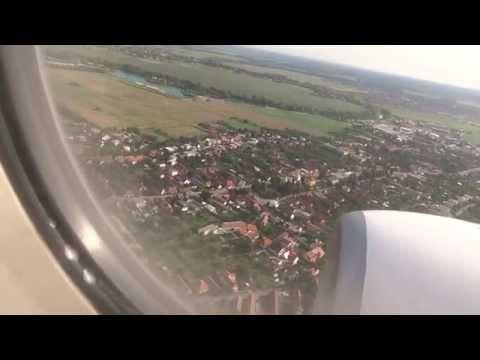 Landing at M. R. Štefánik Airport (Bratislava) - 15 August 2014