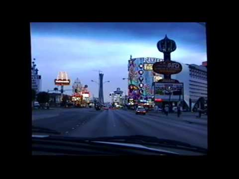 Drive up the Las Vegas Strip - April 1994