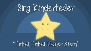 Funkel, funkel, kleiner Stern - Schlaflieder zum Mitsingen | Sing Kinderlieder