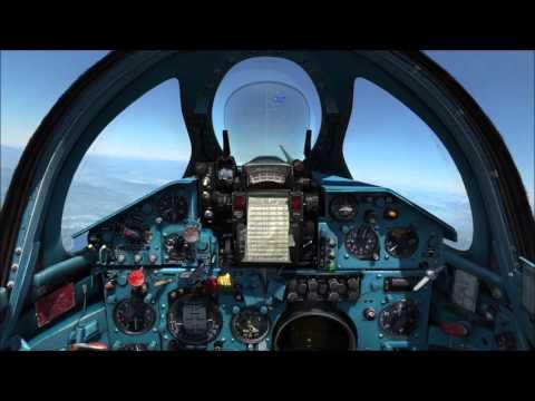 Russian MiG 21 Shoots Down B52