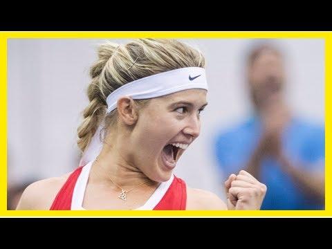 Breaking News   Bouchard impressive, Andreescu injured as Canada splits Fed Cup openers - Article -