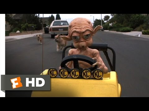 Mac and Me (6/11) Movie CLIP - Chased By Dogs (1988) HD