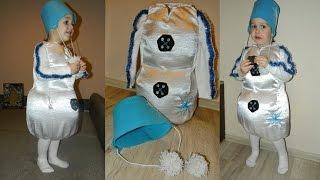 Костюм Снеговика из поролона(К Новому году все спешат купить своему ребенку самый красивый и уникальный костюм. Я же предлагаю создать..., 2015-02-09T19:15:37.000Z)