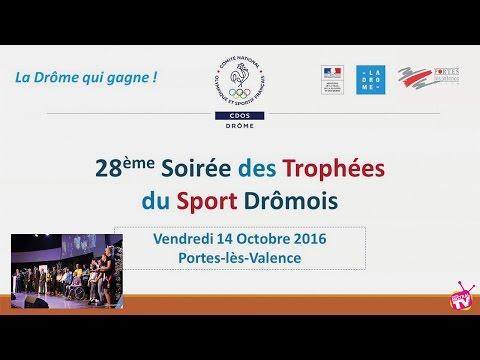CDOS - Remise des trophées du sport Dromois 2016