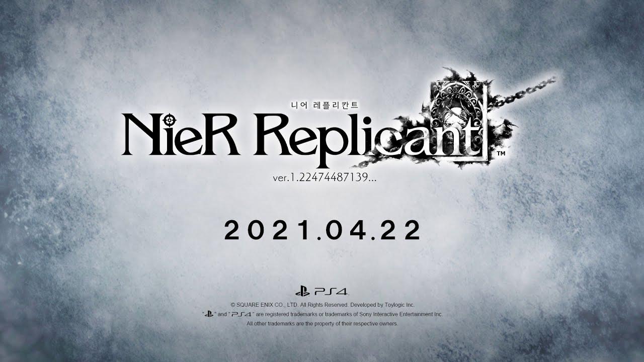 PS4 | NieR Replicant ver.1.22474487139... - TGA 트레일러