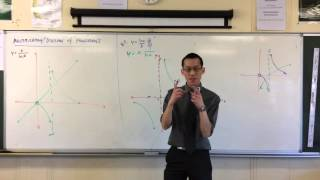 Multiplication/Division of Functions (3 of 3: A Harder Example involving logarithmic equations)