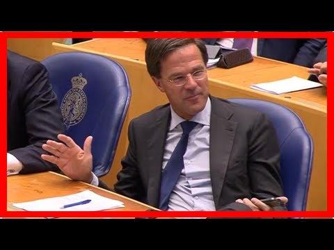 """Mark Rutte: """"Geen Turkse politici die in Nederland campagne gaan voeren"""""""