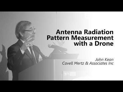 John Kean. Antenna Radiation Pattern Measurement with a Drone