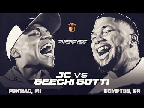 JC VS GEECHI GOTTI SMACK/ URL RAP BATTLE | URLTV