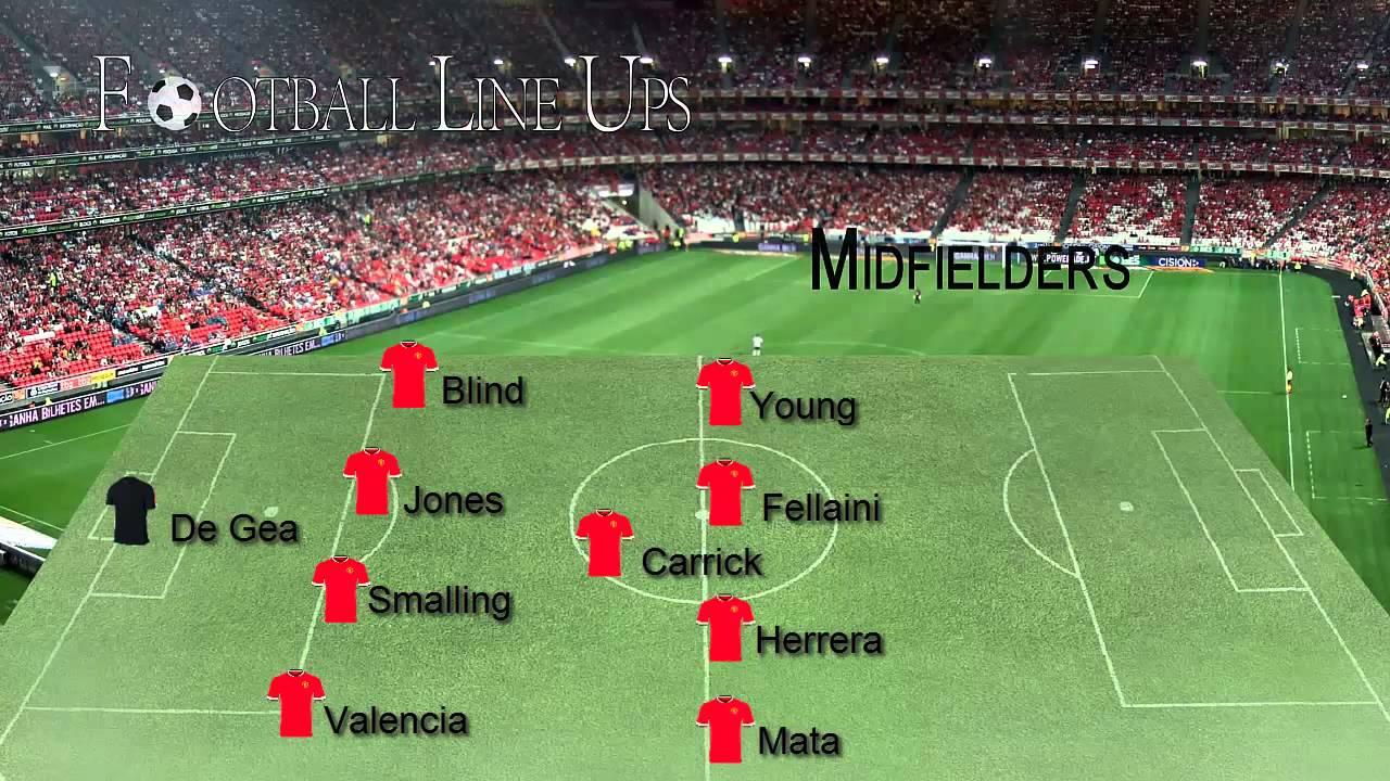 manchester united team in 2014/15 season