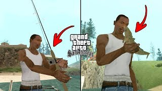 Secret Fishing in GTA San Andreas! (Caravan Camping)