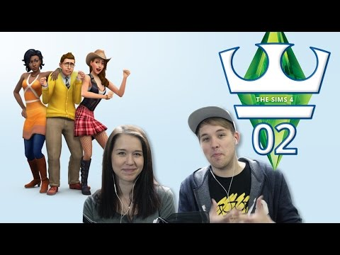 Jirka a Katka Hraje - The Sims 4 S03 E02 - Jdeme do práce