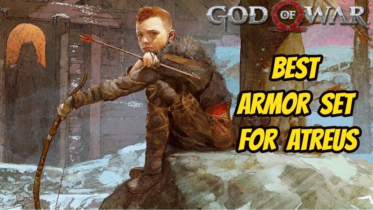 God Of War Atreus Armor Guide Give Me God Of War Difficulty