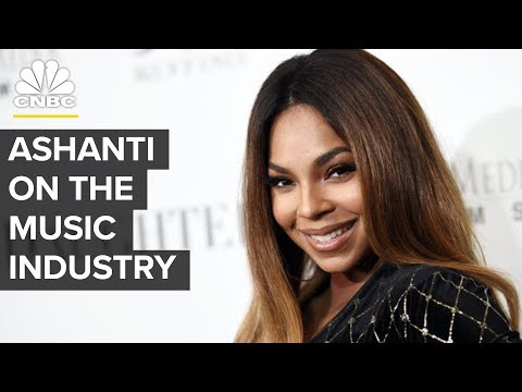 Ashanti: The Music Industry Is Hard | CNBC