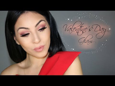 VALENTINES DAY GLAM | HAIRMAKEUPLUCY