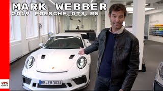 Mark Webber On The New 2019 Porsche 911 GT3 RS Explained