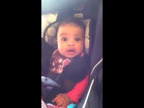 Adorable 5 Month Old Baby Mimics Her Mom's Silly Behavior ...