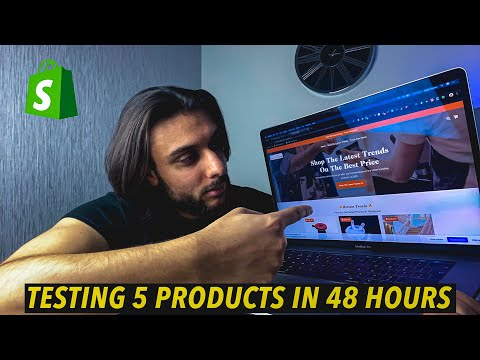 I Tried Shopify Drop-Shipping 5 Different Products in 2 Days! (48 HOUR DROPSHIPPING CHALLENGE) thumbnail