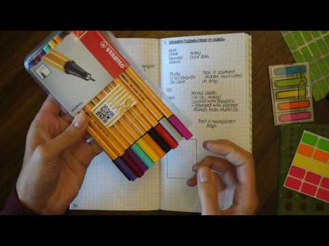 Color coding in Planners