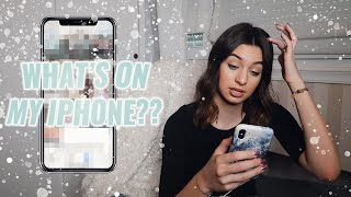 What's on my iPhone 📱| Ema Luketin