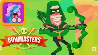 Bowmasters - ARNOLD THE UNSTOPPABLE New Character Unlocked Gameplay Walkthrough iOS/Android