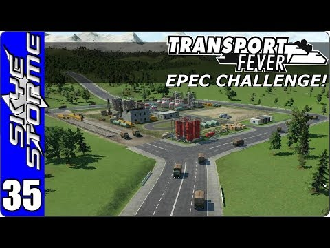 Transport Fever (Tycoon Game) Let's Play/Gameplay - EPEC Challenge Ep 35 - JUST HAVING FUN!