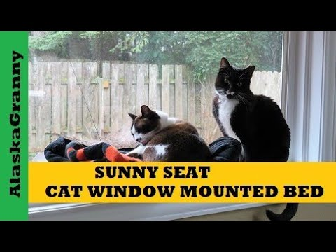 Sunny Seat Window Mounted Cat Bed Seat