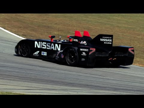 Track Test Nissan DeltaWing Driven At Road Atlanta  CHRIS