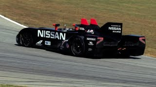 Track Test_ Nissan DeltaWing Driven At Road Atlanta -- /CHRIS HARRIS ON CARS