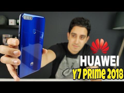 هاتف جديد يستحق أكثر من ثمنه   HUAWEI Y7 Prime 2018 Full Review + BIG GIVEAWAY Terminé
